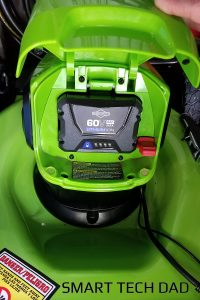 How To Use Greenworks Batteries In Kobalt Tools - Using a Snapper battery in a Greenworks mower